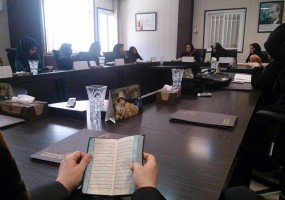 کلاس تفسیر قرآن در ماه مبارک رمضان 93