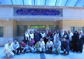 بازدید از آسایشگاه خیریه محمودیه (تیر 1394)