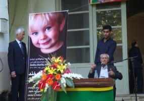 حضور گروه نیکوکاری لبخند در جشن دبیرستان سعدی (اردیبهشت 93)
