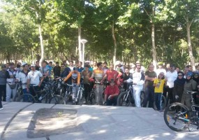 دوچرخه سواری گروه نیکوکاری لبخند (مرداد ماه 93)